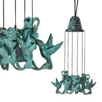 Windgong brons kolibrie