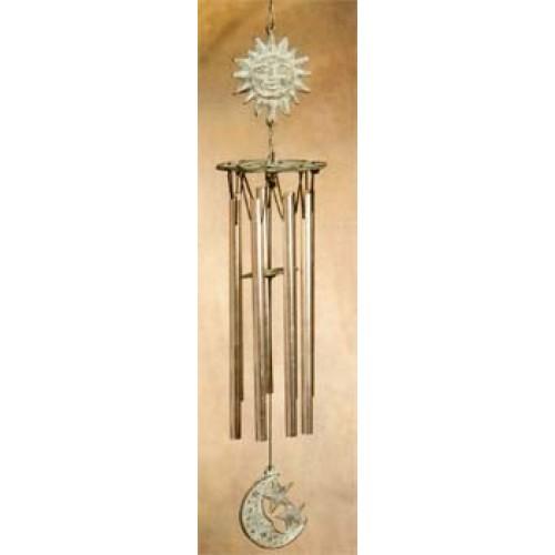 Windgong brons zon-maan