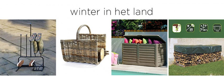 winter in het land
