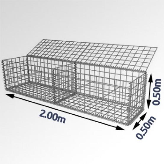 Steenkorf 200 cm