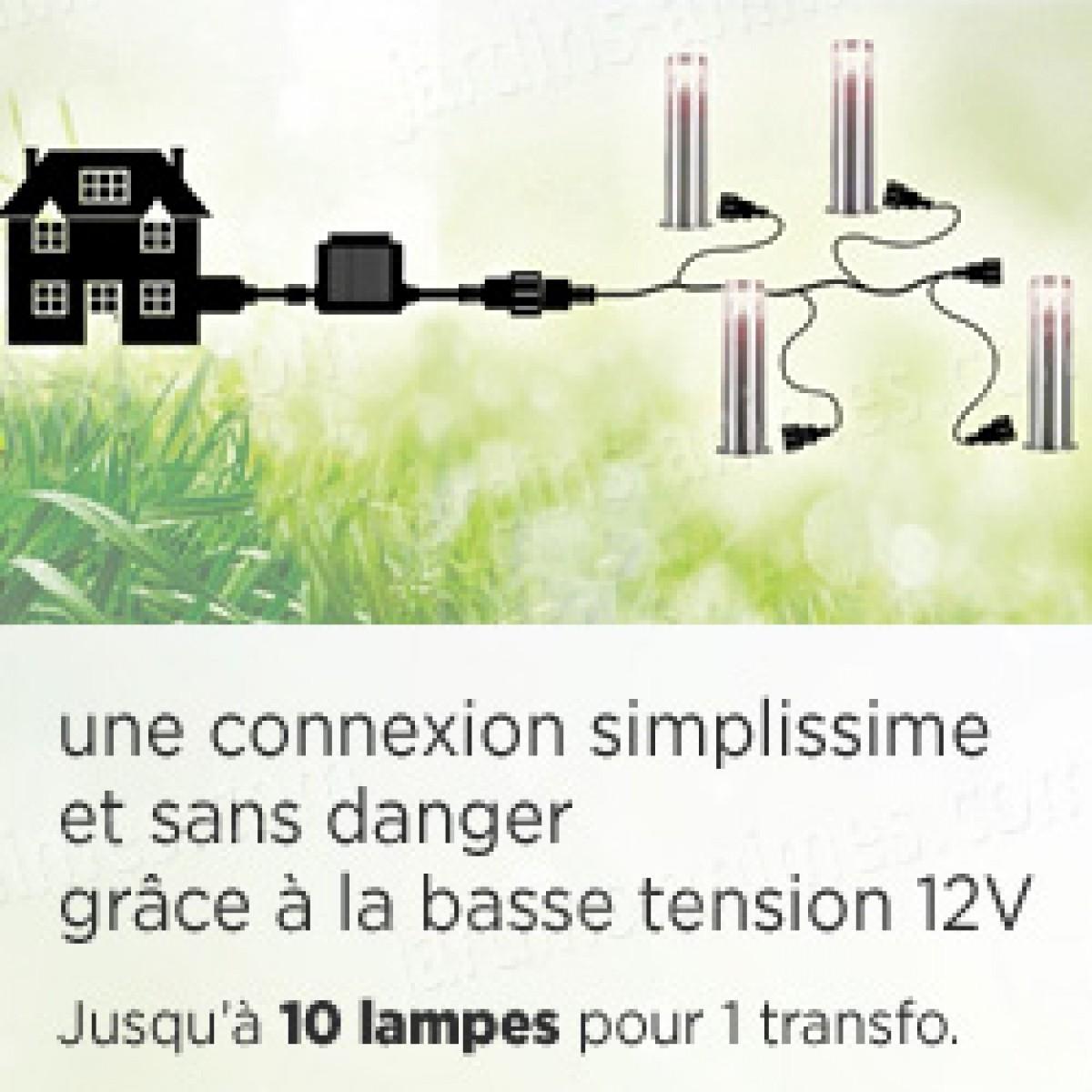 tuinverlichting verlengkabel vier connecties. Black Bedroom Furniture Sets. Home Design Ideas