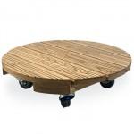ronde transportplank voor planten met 50cm diameter