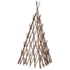 pyramide van gevlochten acaciatakken - 120 cm