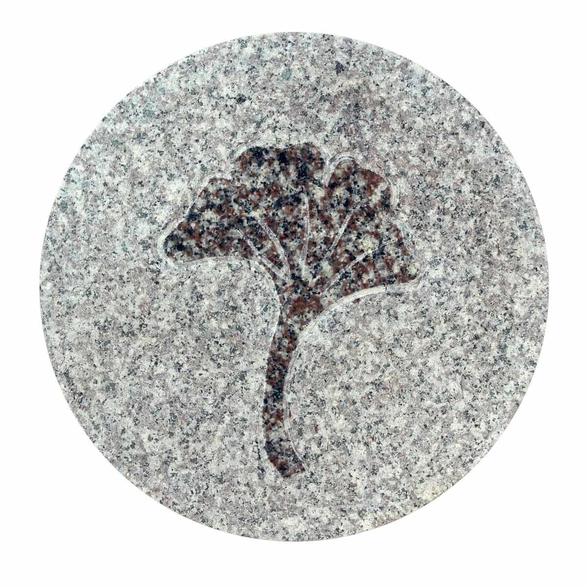 Japanse tuintegel in graniet ginkomotief - Japanse tuindecoratie ...