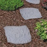 vierkantige rubberen tuintegel