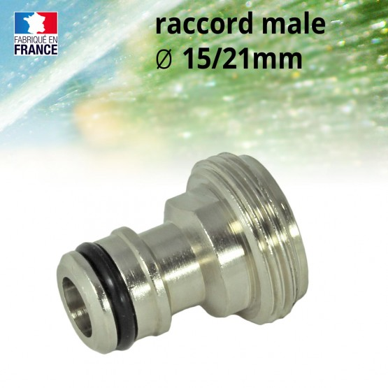 mannelijk-tussenstuk-15 / 21 mm