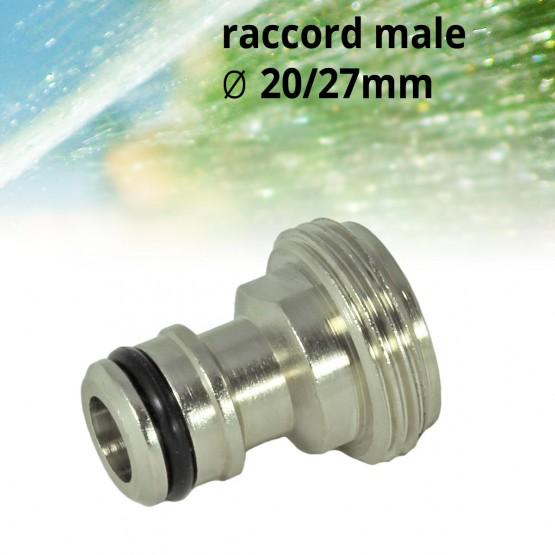 mannelijk tussenstuk 20 / 27 mm
