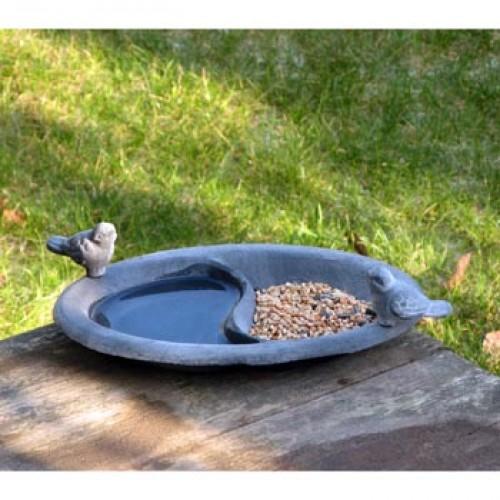 vogelbakje met twee reservoirs