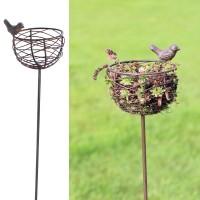 Vogelnestje in smeedijzer