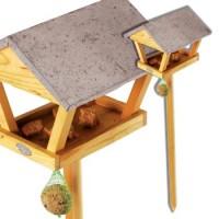 voederkastje op staander hout / zink